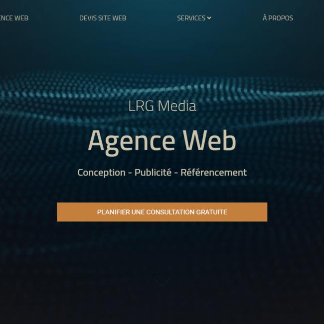 LRG Media – Agence Web