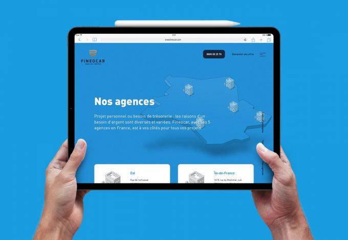 Site internet responsive web design à Muhouse
